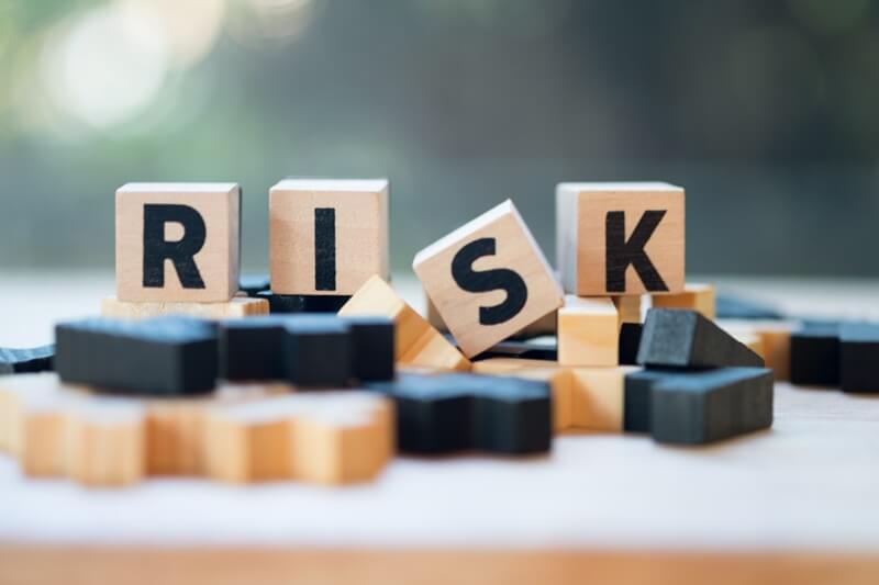 リスクの木片