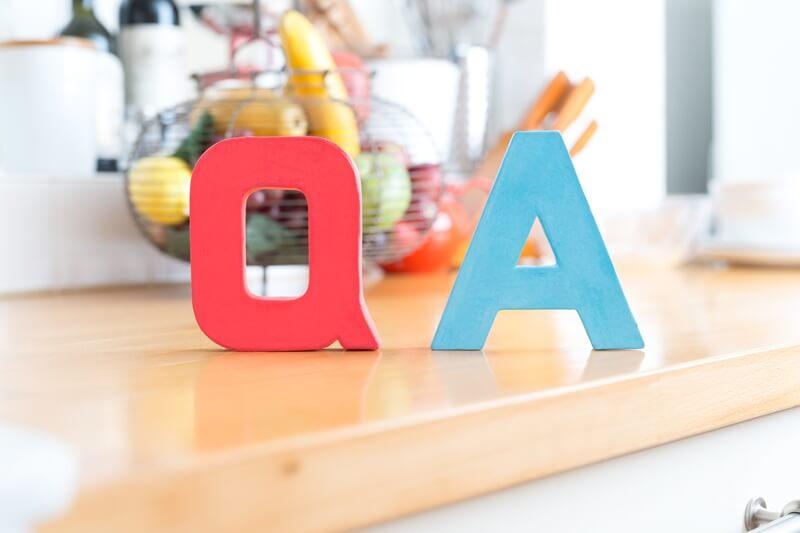 Q&Aの模型