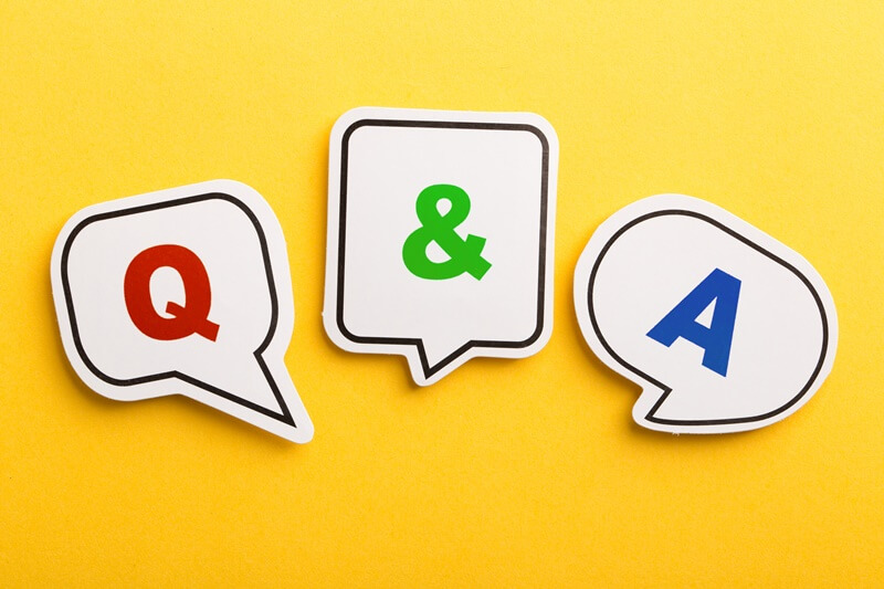 Q&Aのパネル