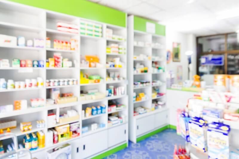 薬局の店内の様子