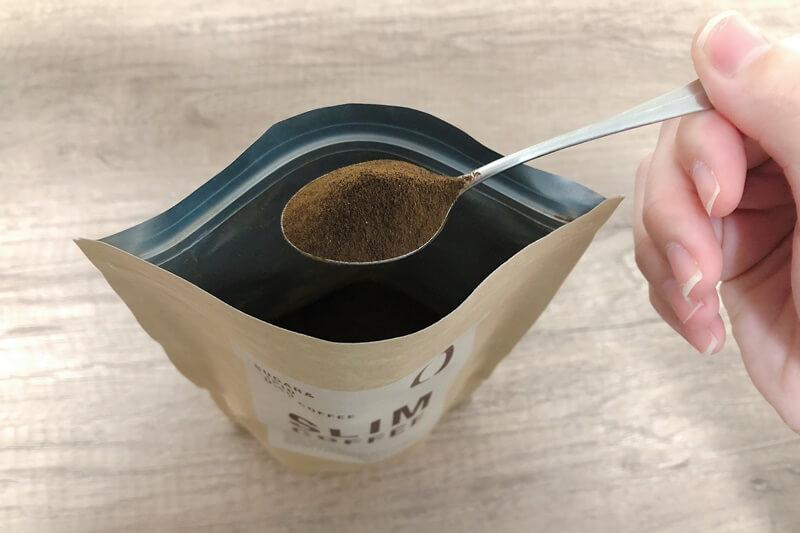スリムコーヒーの粉末