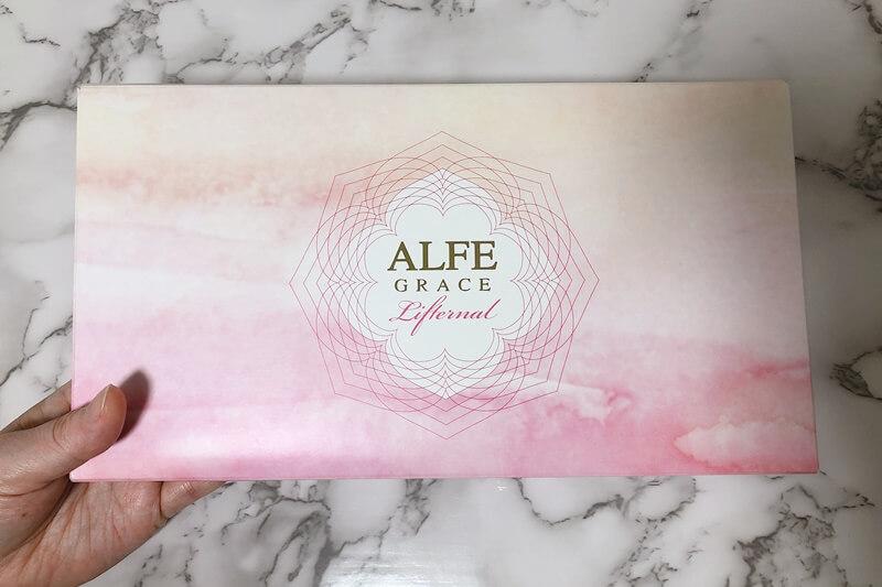 アルフェグレイスリフターナルのパッケージ表面