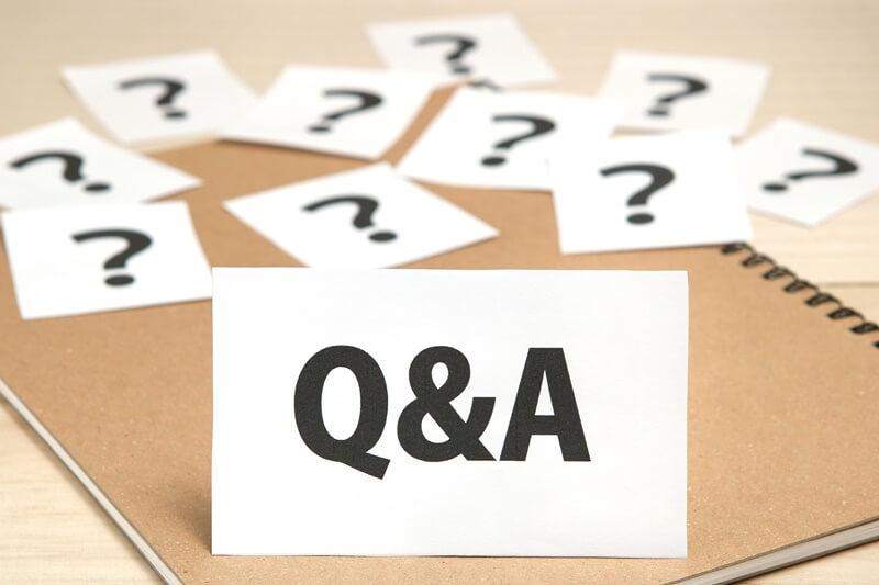 Q&Aの紙